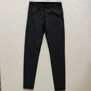 ivivva leggings Mesh Full Pants Lululemon Girls 10